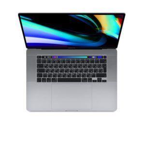 """самые выгодные цена на MacBook Pro 16"""" 8 Core i9 2,3 ГГц, 16 ГБ, 1 ТБ SSD, AMD Radeon Pro 5500M, Touch Bar, «серый космос» ( MVVK2RU/A) спб"""