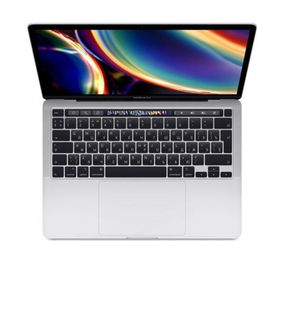 самые низкие цена на MacBook Pro 13 Retina Touch Bar MXK72RU/A Silver (1,4GHz Core i5, 8GB, 512GB, Intel Iris Plus Graphics 645) спб