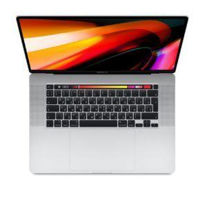 MacBook Pro 16 Retina Touch Bar MVVL2RU Silver (2,6 GHz Core i7, 16GB, 512GB, Radeon Pro 5300M) купить спб