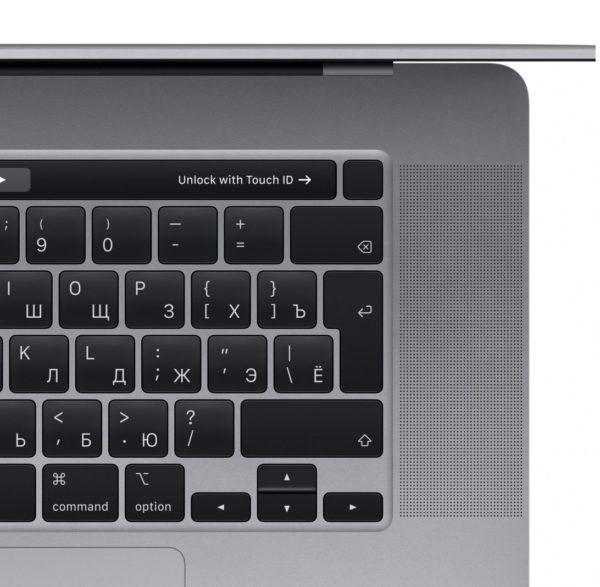 MacBook Pro 16 Retina Touch Bar MVVJ2RU Space Gray (2,6 GHz Core i7, 16GB, 512GB, Radeon Pro 5300M) по самой выгодной цене спб