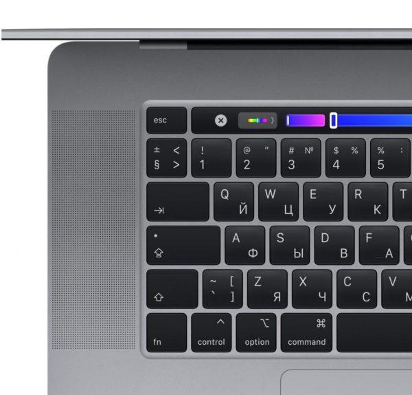 MacBook Pro 16 Retina Touch Bar MVVJ2RU Space Gray (2,6 GHz Core i7, 16GB, 512GB, Radeon Pro 5300M) по самым низким ценам